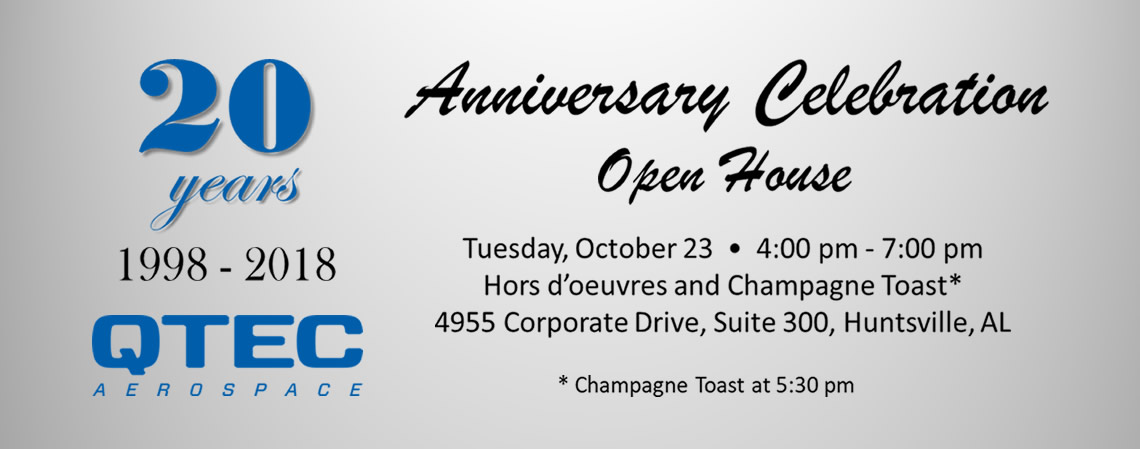 QTEC 20 year anniversary celebration and open house