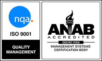 ISO 9001 ANAB Accredited