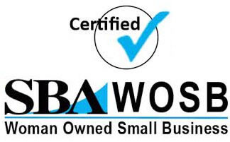 Certified SBA Woman Owned Small Business
